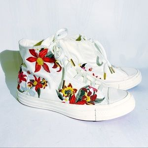 Converse x PatBo | Floral Embroidered High Tops 6